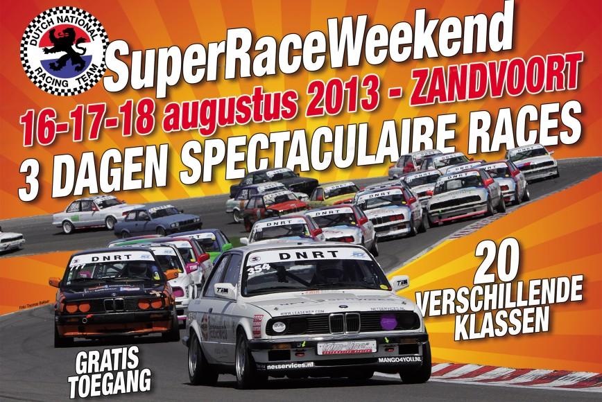 uitnodiging superraceweekeinde