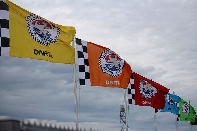 DNRT vlaggen