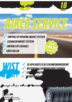 Actie Aircoservice